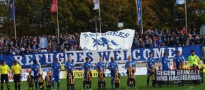 Refugees welcome Fußball